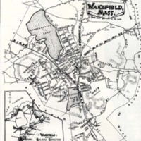 Map of Wakefield, 1889