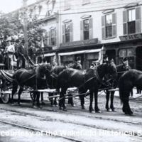 Members of Post 12, Grand Army of the Republic, 250th Anniversary Parade, Settlers' Day, Monday, May 28, 1894