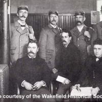 Office force, carriers and sub, Wakefield Post Office, 1892