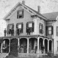 Park estate, corner of Bennett and Main Streets, 1893