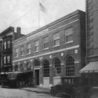 Post Office, Albion Street, April 1, 1924