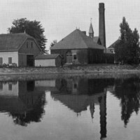 Pumping station at Crystal Lake, 1905