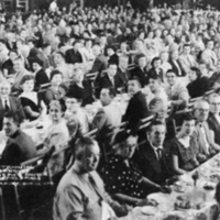 St. Joseph's Church 100th anniversary banquet, October 12, 1954