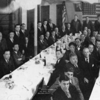 Testimonial dinner for Felix Pasqualino, February 21, 1934