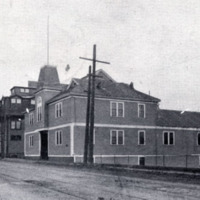 The Armory, A Company, 6th Regiment, near the corner of Main and Water Streets, 1906