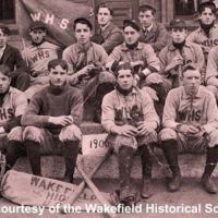 Wakefield High School baseball club, 1900