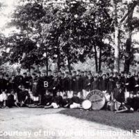 Wakefield High School Drum Corps, 1900