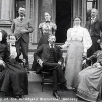 Wakefield High School staff, 1898