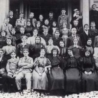 Wakefield High School students, 1900
