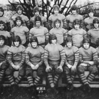 Wakefield High School, football squad, 1927