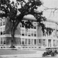 Wakefield High School, Main Street, circa 1923