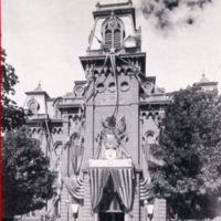 Wakefield Town Hall, Main Street at Water Street, 1893