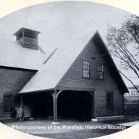 Wakefield's electric light plant, North Avenue, circa 1893, circa 1895-1900