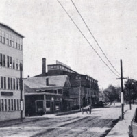 Water Street, looking toward Main Street, circa 1901