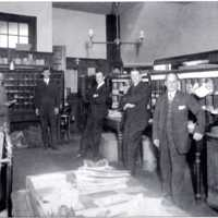 Wakefield Post Office, Corner of Richardson Avenue and Main Street, circa early 1900s