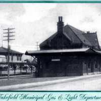 Upper depot, early 1900s