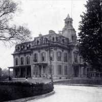 Wakefield High School, Lafayette and Common Streets, circa 1907