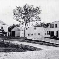 Leonard Wiley House, Crescent and Water Streets, circa 1890