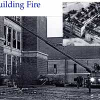 Atwell building fire, December 1971