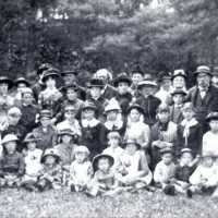 Greenwood Sunday School Outing Tasker's Grove, circa 1885
