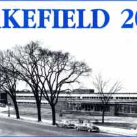 Wakefield Memorial High School, Main Street, circa 1955