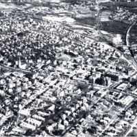 Aerial view of Wakefield, circa 1936