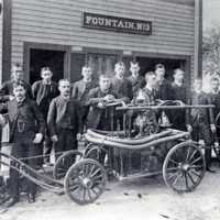 Fountain Engine No. 3, Crescent Street, circa 1886