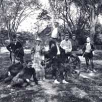 Cannon on the Common, circa 1890s
