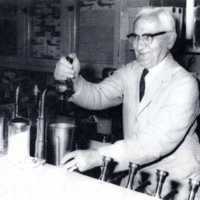 Charles Klapes at the Colonial Spa, circa late 1960s