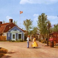 Colonial settlers at Pleasure Island