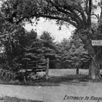 Entrance to range, Wakefield, Mass.