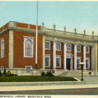 Lucius Beebe Memorial Library, Wakefield, Mass.