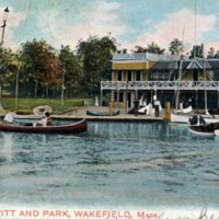 Lake Quannapowitt and park, Wakefield, Mass.