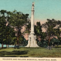Soldiers and sailors memorial, Wakefield, Mass.