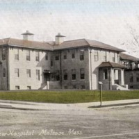 The new hospital, Melrose Mass.