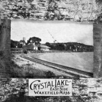 Crystal Lake east side, Wakefield, Mass.