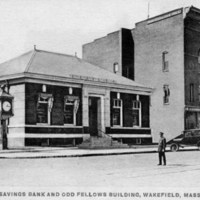 Savings Bank and Odd Fellows Building, Wakefield, Mass.