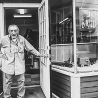 John Cimino, the barber on Shirley Street