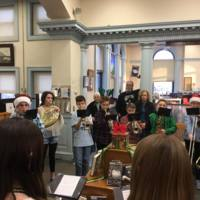 Holiday band concert at the library