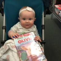 Baby's first library visit